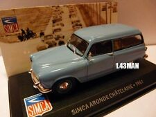 SIM5F Voiture 1/43 IXO altaya SIMCA aronde chatelaine break 1961