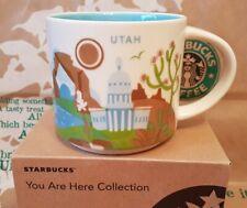 Starbucks Coffee Mug/Tasse/Becher UTAH You Are Here, NEU in OVP-Geschenk-Box!!!!