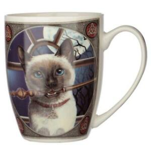Lisa Parker Cat Mug, boxed, NEW - Hocus Pocus Design, Siamese