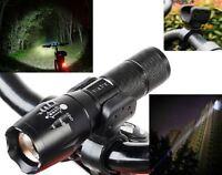 LED Fahrradlampe Vorderlicht Beleuchtung Scheinwerfer 5Modis 8000 Lumen Taschen