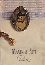 Maximal Art, John Wind, Snowman, Push Pin - c.1992 Rare, Retired