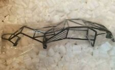New for Traxxas 2wd Rustler Bandit Steel Roll Cage & Clear Paintable Body Panels