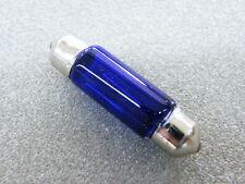 Glühlampe 12 V Volt 5 W Watt blau Sofitte 38 mm Soffitte Innenbeleuchtung Lampe