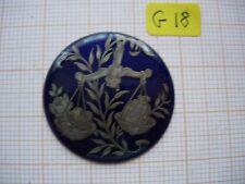 Médaillon émail balance émaillé bijoux montre enamel zodiaque G18