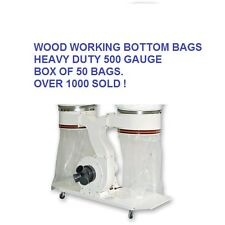 50 Dust Bags Extractor Collector Bags 500mm Dia Heavy Duty Wood Waste Extraction