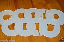 Lot Of 50 White Round Blank Size Dividers Retail Store Closet
