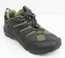 bbdc9b2102 KEEN Koven Low Leather Hiking Trail Shoes Mens 39 Eur 6 US M Black Olive  Green