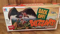 RARE! Milton Bradley BACK OFF! BUZZARD Motorized Escape Board Game 100% Complete