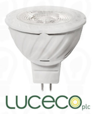 Luceco MR16 GU5.3 LED True Fit 8w ~ 600 lm ~ Cool White ~  Spot Light ~ 12v ~ A+