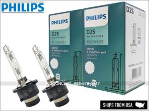 PHILIPS D2S X-TremeVision Gen2 4800K +150% HID Xenon Bulbs 85122XV2 35W Germany