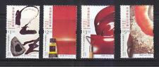HONG KONG CHINA 2002 ARTWORKS COMP. SET OF 4 STAMPS SC#961-964 IN MINT MNH UNUSE