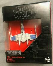 STAR WARS Black Series TITANIUM RESISTANCE X-WING 02 Toy in Box Never Opened