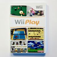 Wii Play Nintendo Wii Complete CIB Tested
