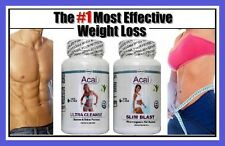 Fat Burner Detox Cleanse Diet Pills Strong Acai Weight Loss Slimming Tablets #2