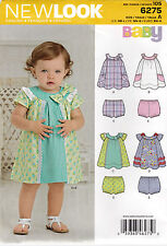 From Uk Sewing pattern Baby Dress Panties nb-lg #6275