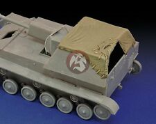 Royal Model 1/35 Canvas Cover for SU-76M Russian Self-propelled Gun WWII 607