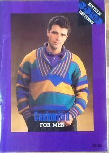 Cashmilon for Men  Bond, USM, Ultimate sweater machine, Incredible, Pattern Book