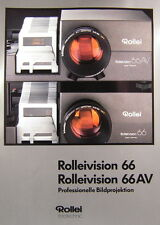 Rollei VISION 66 Rollei VISION 66av prospetto brochure - (0392)
