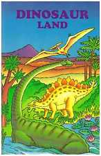 DINOSAUR LAND Personalised Children's Book - HARDBACK - PERFECT GIFT