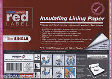 Insulating lining Paper (4mm polystyrene laminated with reinforced lining paper)