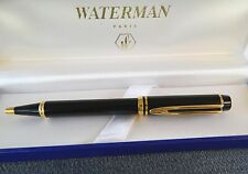 WATERMAN LE MAN 100  BLACK BALLPOINT PEN  NEW  IN BOX