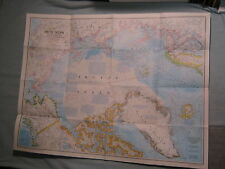 ARCTIC OCEAN MAP + PEOPLES OF THE ARCTIC National Geographic February 1983