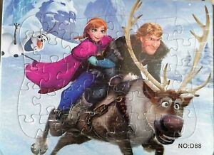 Hot New Disney 40 Pieces Frozen Jigsaw Puzzle Best Gifts for Kids - 5#