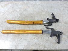07 Triumph 675 Daytona front forks fork tubes shocks right left
