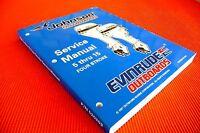 """EVINRUDE /JOHNSON  """" 5  thru  15 four stroke """", OUTBOARD MOTOR WORKSHOP  MANUAL"""