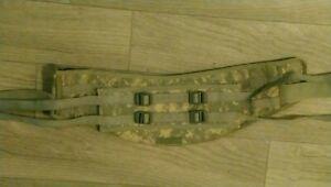 USGI military surplus Molle II ACU MOLDED WAIST BELT Kidney Pad For Rucksack