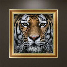 DIY 5D Diamond Painting Tiger Embroidery Cross Stitch Craft Kit Home Decor
