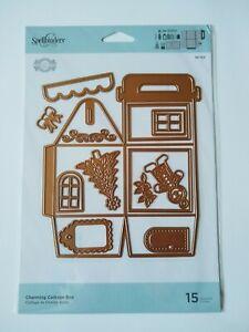 Spellbinders Charming Cottage Box Die Set - 15 Dies - Becca Feeken - Gift/Favour