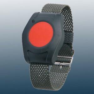 Eldat Armbandsender für Pflegeruf Set, Funk Armbansender, Notrufknopf, Hausalarm