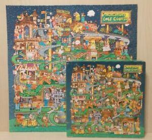 Vintage 1985 Springbok Puzzle   A SHORT ROUND OF GOLF!   Bob Martin COMPLETE!