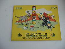 Edition Fleurus  Sylvain et Sylvette EDITION ORIGINALE à l'italienne N° 52