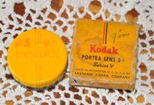 Vintage Kodak Series V Portra 3+  Lens Filter With Case in Box