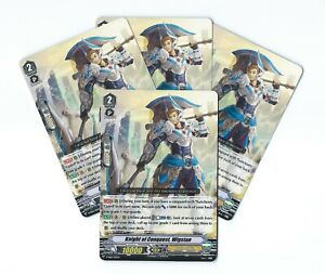 Cardfight!! Vanguard V-SS06 4x Knight of Conquest, Wigstan (Common Playset)