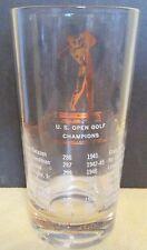 VINTAGE   1932-1952  U.S. OPEN GOLF  CHAMPIONS  GLASS