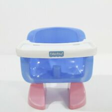 Fisher Price Mattel 2003 Doll High Chair Booster Seat Pretend Play