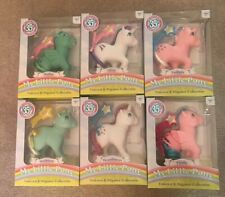 Rare NEW Complete My Little Pony 35th Anniversary Unicorn & Pegasus Collection!