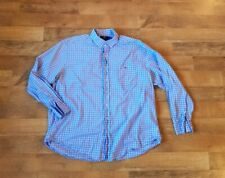 VINEYARD VINES men's 2XL XXL slim fit tucker shirt gingham check shirt