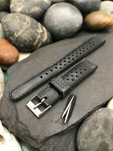 """16mm 5/8"""" Sub Swiss Skindiver Tropical Dive Strap nos 1960s Vintage Watch Band"""