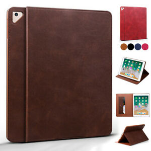 Simple Leather Case For iPad Air Air2 3rd Mini 12345 Pro 11 9.7 10.2 Smart Cover