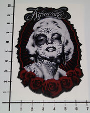AGRACIADA Aufkleber Sticker Marilyn Monroe Tattoo Girls Hot Rod Pin Up JDM Mi260