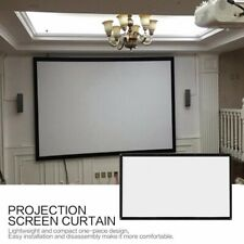 "100-120"" 16:9 Hd 4K Projection Projector Screen Portable Foldable Home Theater"
