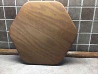 "Longaberger 10"" Generations Basket Wood Lid K.S. Lanam"