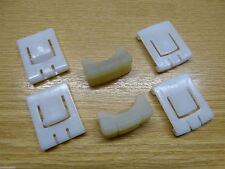 NEW VW MK1 Rabbit Cabriolet Rail Seat Mounting Clip Clips Set *S01