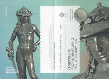 2 EURO SAN MARINO 2016 - 550. TODESTAG DONATELLOS - IN SCHMUCKHÜLLE & BLISTER!!