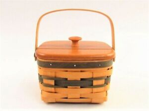Royce Craft Recipe Card Basket with Cover  A035