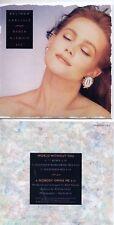 CD SINGLE Belinda CARLISLEWorld Without You 4-TRACK CARD SLEEVE REMIXES